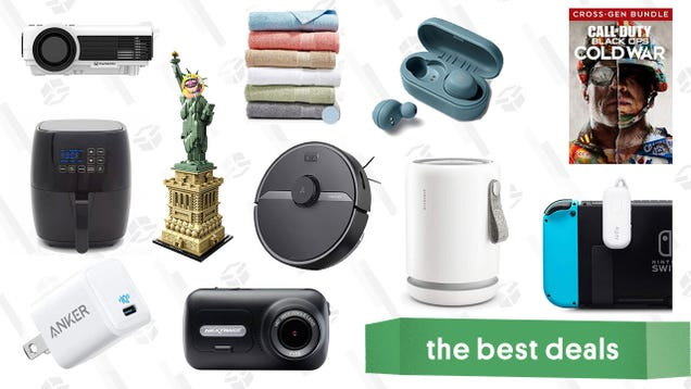 Wednesday s Best Deals: Call of Duty: Black Ops - Cold War, Vankyo Mini Projector, Bath Towels, LEGO Statue of Liberty, Molekule Air Mini, Roborock Robot Vacuums, and More