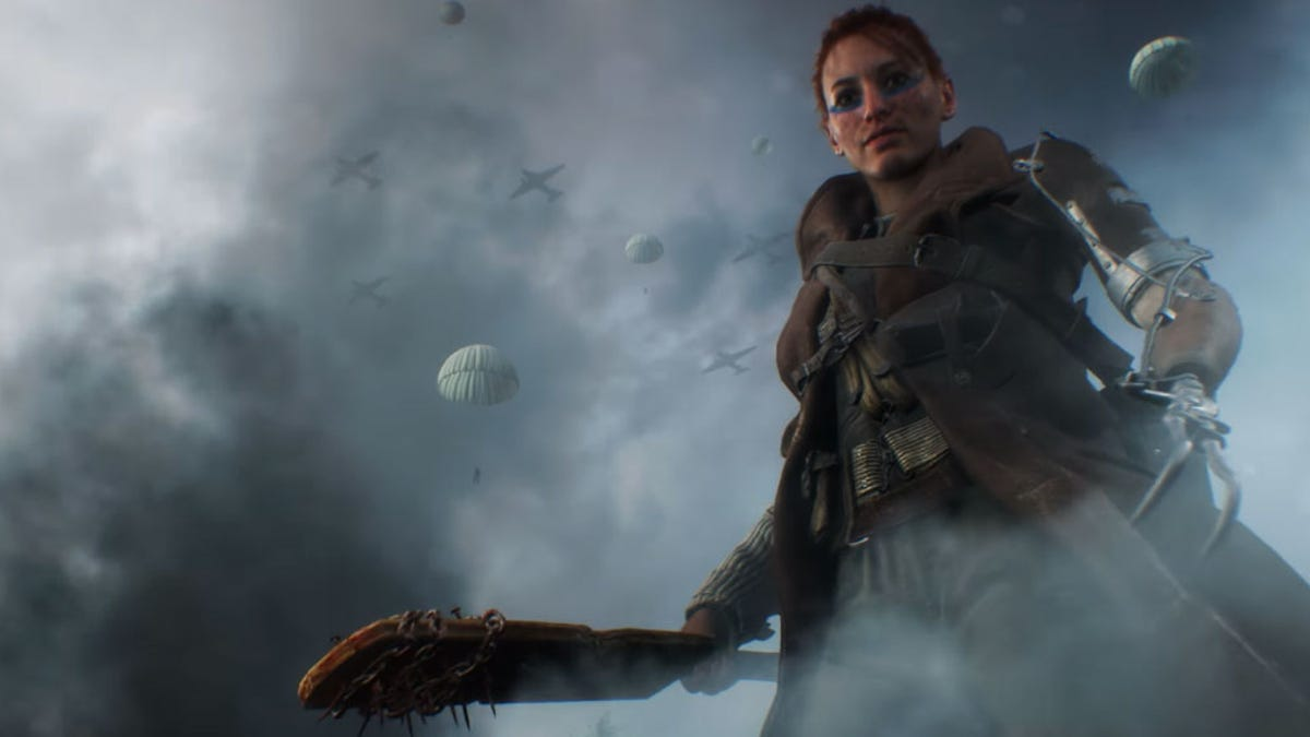 Oh No, There Are Women In Battlefield V