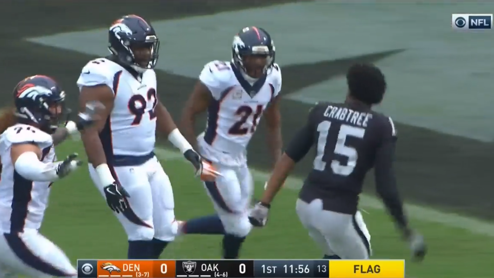 Aqib Talib And Michael Crabtree Both Suspended e Game For Chain