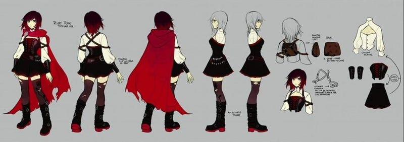 Ruby's concept art for Volume 4.