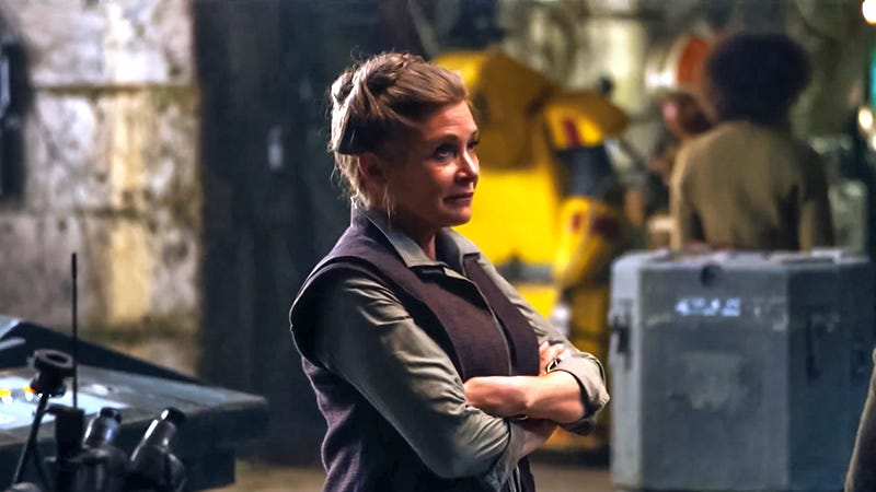 Illustration for article titled J.J. Abrams Says Leia Is Known as 'General' in The Force Awakens, Not 'Princess'