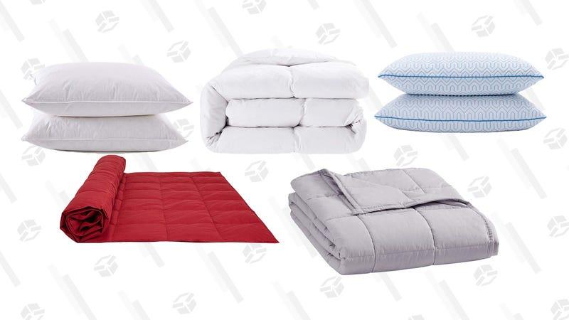 Puredown Down Pillow and Down Comforter Gold Box | Amazon