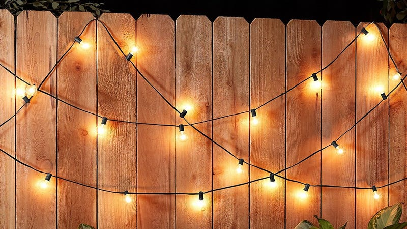 AmazonBasics 25' String Lights | $12 | Amazon