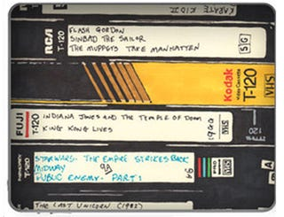Illustration for article titled These Old VHS Tapes Are an iPad
