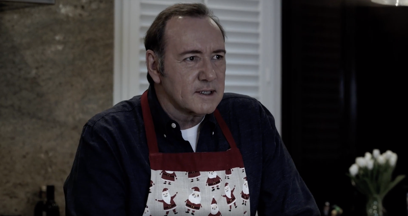 Illustration for article titled Kevin Spacey charged with felony sexual assault, releases bizarre video as Frank Underwood