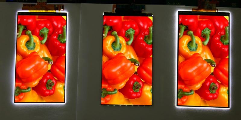 Illustration for article titled LG tiene el nuevo marco más fino en pantallas para smartphone: 0,7mm