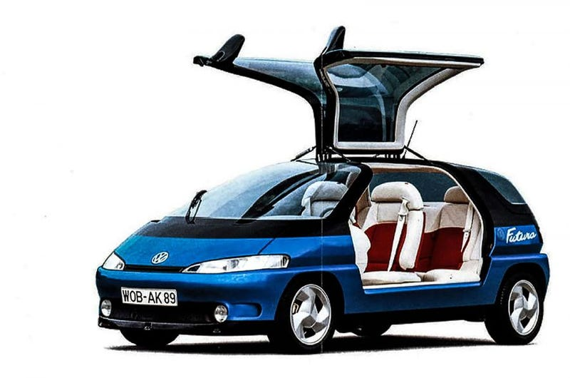 Illustration for article titled This what VW thought we would drive around today
