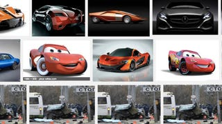 Illustration for article titled A Google Image Search Bug Is Flooding Results With a Russian Car Crash