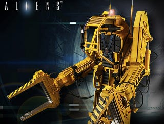 Illustration for article titled You'll Desperately Want To Climb Inside This Aliens Power Loader Figure
