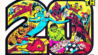 Illustration for article titled Celebrate 2015 With Marvel's 20th Anniversary Calendar... From 1981