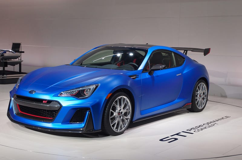 Illustration for article titled Subaru Gives In, Finally Gives The BRZ More Power