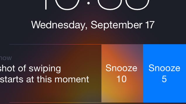 notification center iOS 8.1