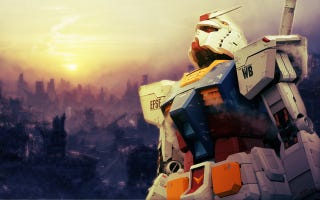 Illustration for article titled This Is What a Realistic Gundam Suit Will Be Like