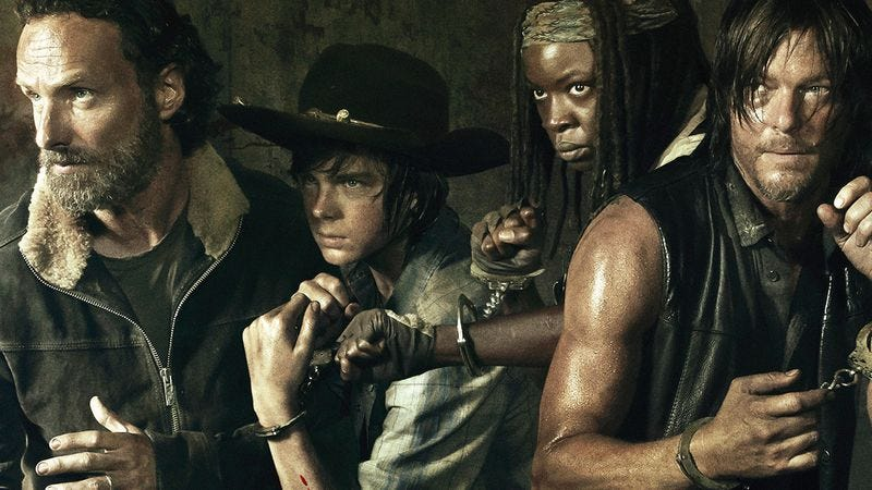 Illustration for article titled The Walking Dead already renewed for a sixth season