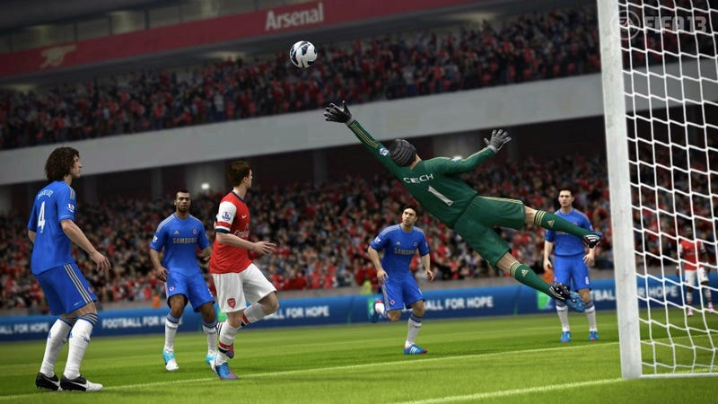 Illustration for article titled Leaked Screens Show How FIFA 13 Works with the Wii U Controller