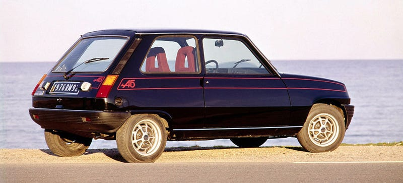 Illustration for article titled Words Cannot Describe How Much I Want This Renault 5 Alpine
