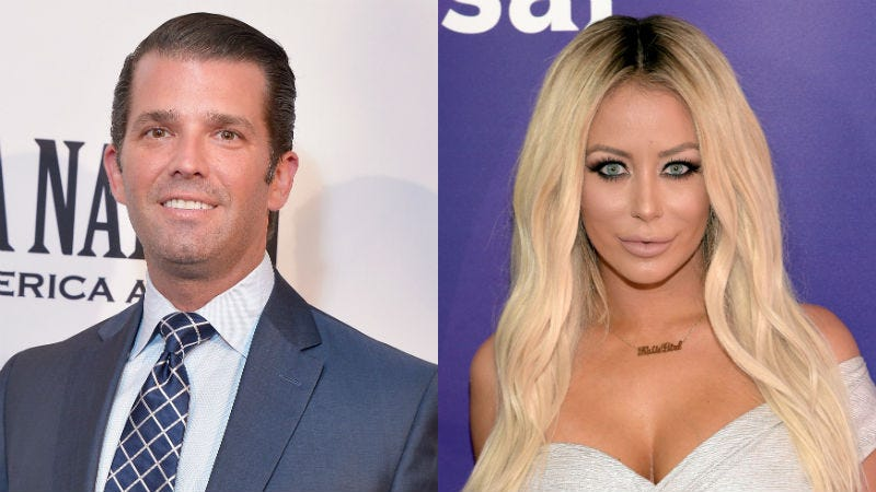 Illustration for article titled Will Don Jr Spend His Birthday With Aubrey O'Day?