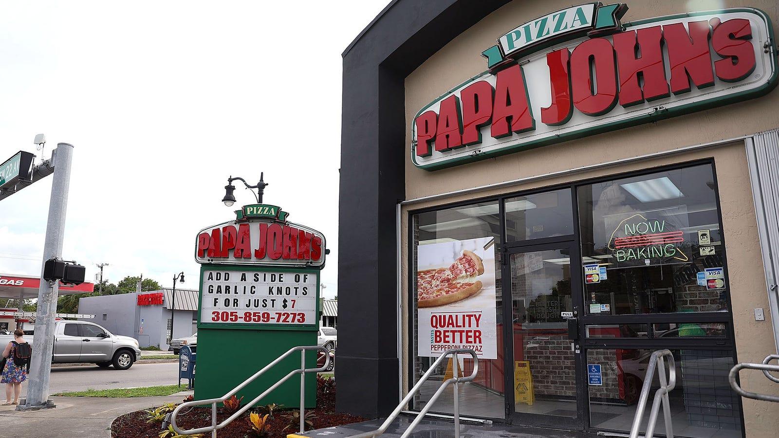 Papa John's Removes N-Word From Menus