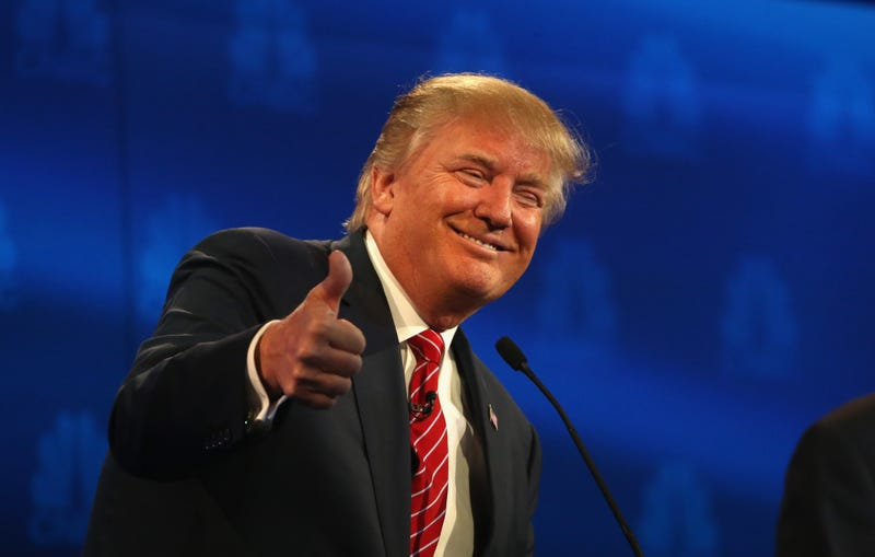 Republican presidential candidate Donald Trump Justin Sullivan/Getty Images