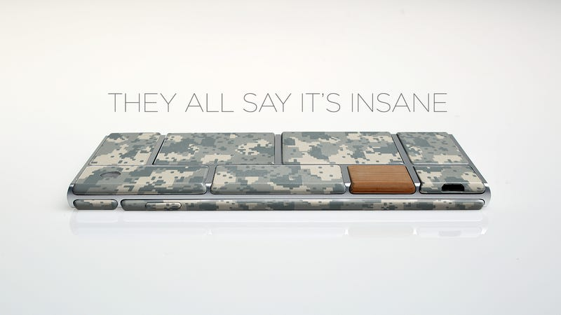 Illustration for article titled Why the Military Is Pinning Its Hopes on Google's Modular Phone