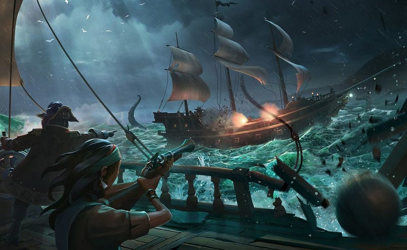 Illustration for article titled Apex Legends Might Have Killed Sea Of Thieves' Twitch Momentum