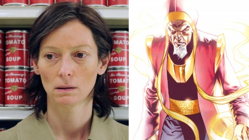 Illustration for article titled Tilda Swinton might play The Ancient One in Marvel's Doctor Strange