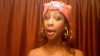"""Skye Townsend in """"Beyonce's Personal Response to 2009 VMAs- Kanye & Taylor""""YouTube"""
