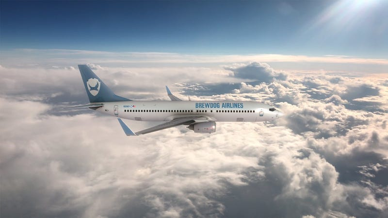 Illustration for article titled BrewDog Is Introducing The First Ever Craft Beer Airline So You Can Get Drunk While You Cross The Atlantic
