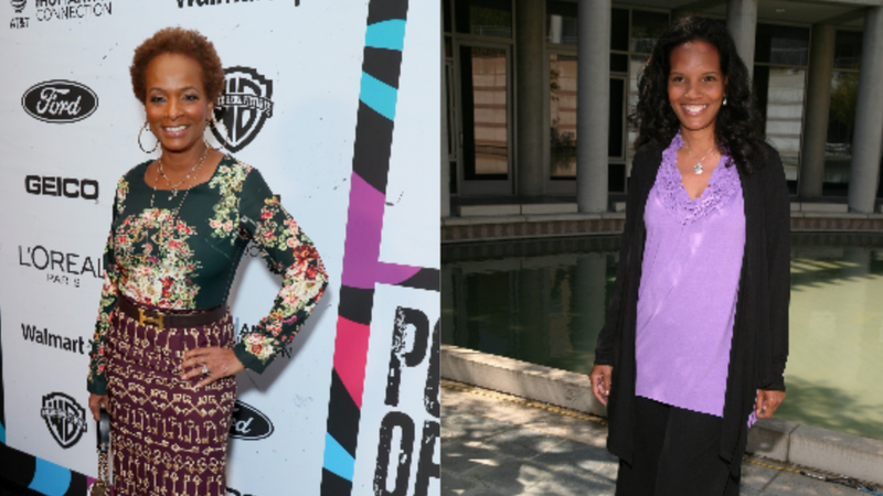Vanessa Bell Calloway, left, on February 21, 2019 in Los Angeles, Calif.; Shari Headley  on April 20, 2009 in Los Angeles, Calif.