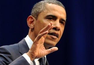 President Obama in Tucson (Jewel Samad/AFP/Getty)
