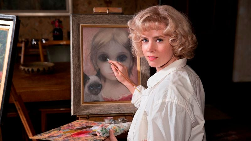 Illustration for article titled The biopic Big Eyes adds another misfit to Tim Burton's gallery