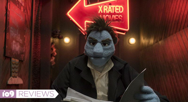 Phil, played by Bill Barretta, is the lead character in The Happytime Murders.