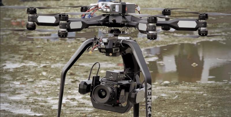 Illustration for article titled Así de brutal graba una cámara de cine 4K a 1.000 fps desde un dron