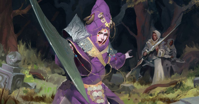 Illustration for article titled Nice Sword, Clown Lady