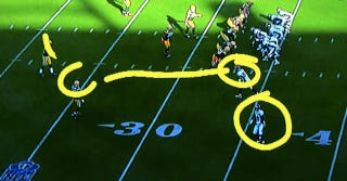 Illustration for article titled Phil Simms Invites Himself To The Telestrator Dong Party