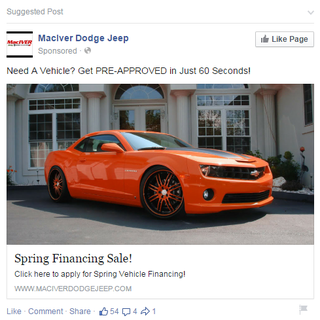Illustration for article titled Let's use a Camaro in an ad...