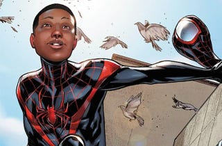 Illustration for article titled Spider-Man Still Doesn't Need To Be Another White Guy