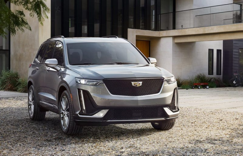 Illustration for article titled Here's the 2020 Cadillac XT6