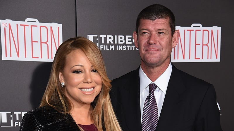 Illustration for article titled Mariah Carey Is Engaged to James Packer, Who Will Always Be Her Billionaire