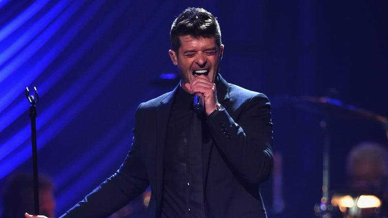Illustration for article titled Robin Thicke Knows His Paula Patton Sympathy Tour Was 'Embarrassing'