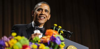 Obama at the White House Correspondents' Dinner (Pool/Getty Images)