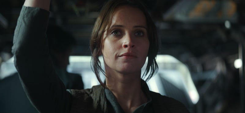Jyn Erso in Rogue One. Image: Disney