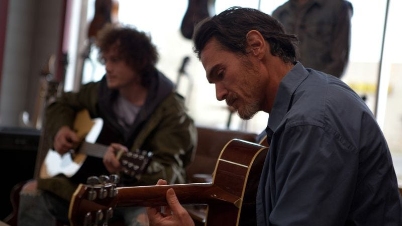 Illustration for article titled Billy Crudup tunes up again in William H. Macy's Rudderless