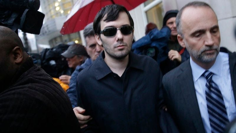 Illustration for article titled Woman Goes on Date with Martin Shkreli, Says He Ordered $120 Cup of Tea