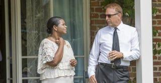 Octavia Spencer and Kevin Costner.IMDB