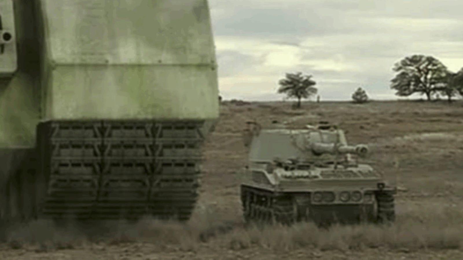 Cuatro tanques experimentales tan enormes que nunca llegaron al campo de batalla