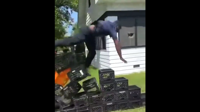 TikTok Bans Milk Crate Challenge After Reports of, You Guessed It, Milk Crate-Induced Injuries