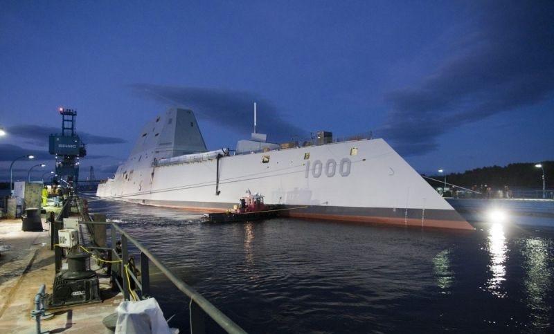 Illustration for article titled El destructor de $4.000 millones de la marina de EE.UU. se avería por segunda vez en pocos meses
