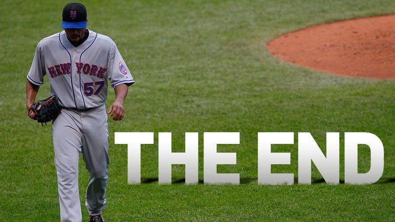 Illustration for article titled Johan Santana's Mets Career Is Over