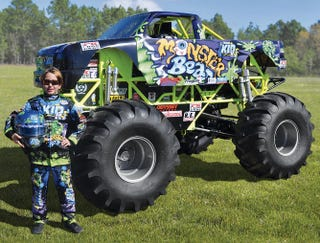 Illustration for article titled For $125,000 You Can Buy Your Kid a Miniature Monster Truck